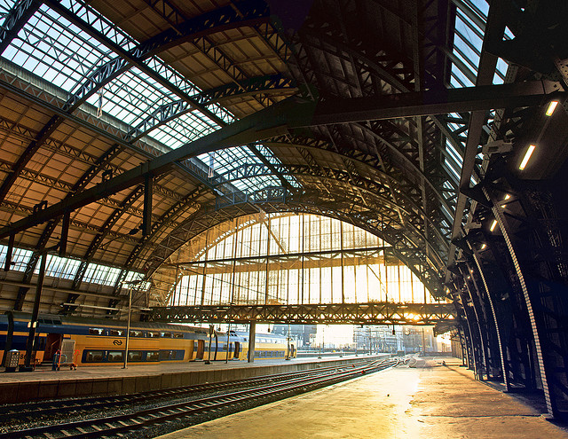 europe travel guide netherlands amsterdam train station centraal