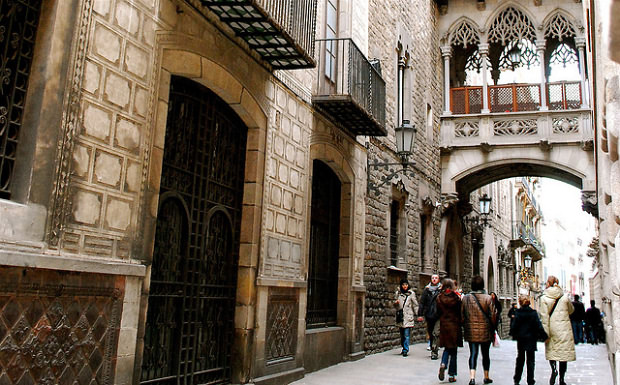 Barri Gotic neighborhood - Barcelona
