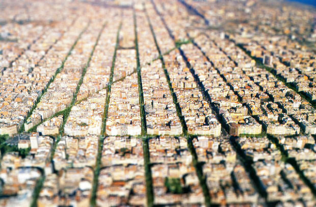 Eixample neighborhood - Barcelona