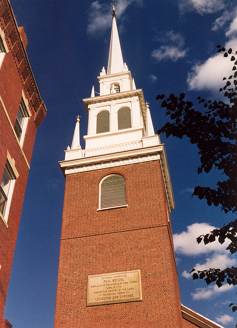 Old North Church Practical Information Photos And