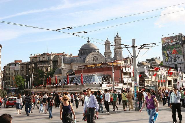 Taksim Square Practical Information Photos And Videos Istanbul Turkey
