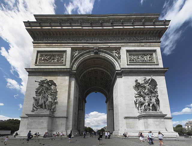 arc de triomphe practical information photos and videos paris france. Black Bedroom Furniture Sets. Home Design Ideas