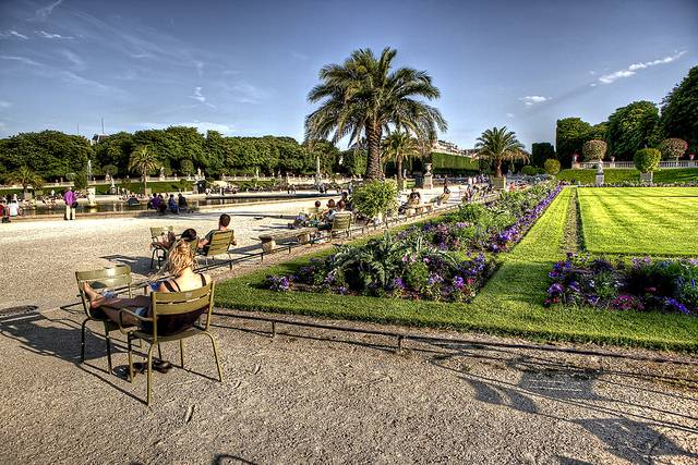Luxembourg gardens practical information photos and - Station metro jardin du luxembourg ...