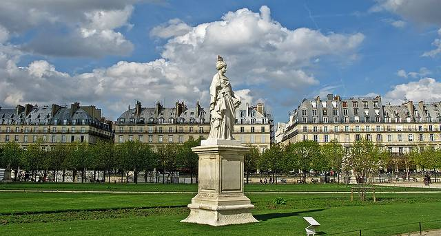 photo dibytes - Tuileries Garden