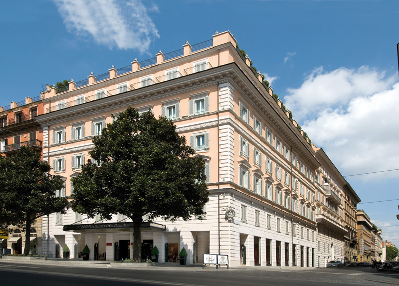 Tested and recommended 5 star hotels in rome italy for Royal palace luxury hotel 00187 roma