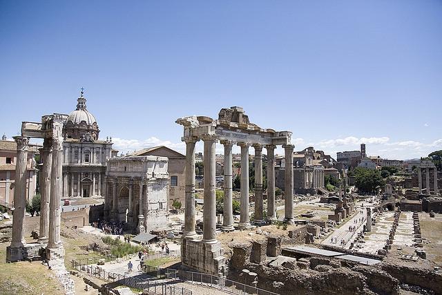 Afbeeldingsresultaat voor italy Forum and Palatine Hill