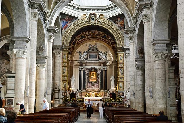 Rome Chrétienne et ses monuments - EUGENE DE LA GOURNERIE - 1867 Santa_maria_del_popolo_005
